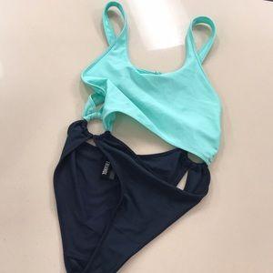 triangl swimwear Swim - Triangle Jarah One Piece Mint